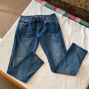 Men's Midwash Slim Straight Jeans